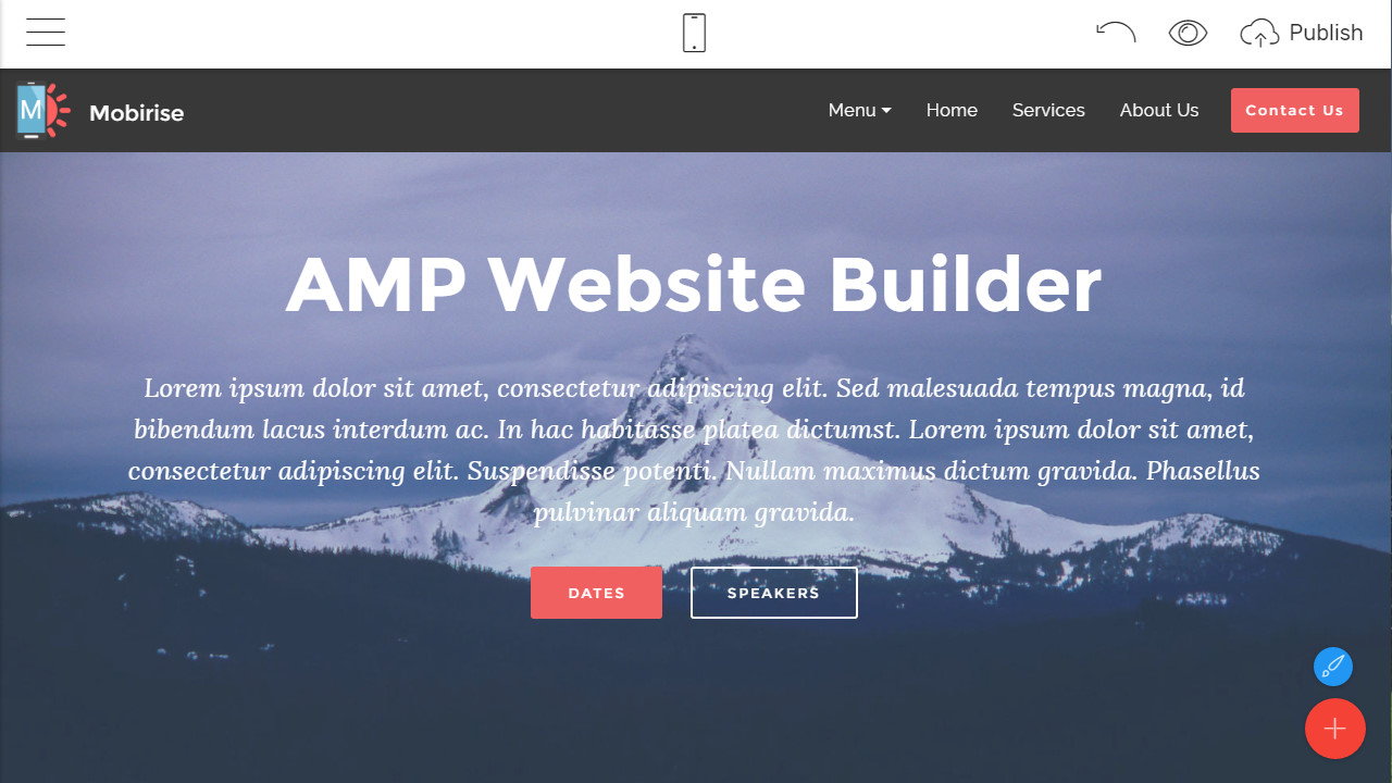 Incredible AMP Website Theme Review